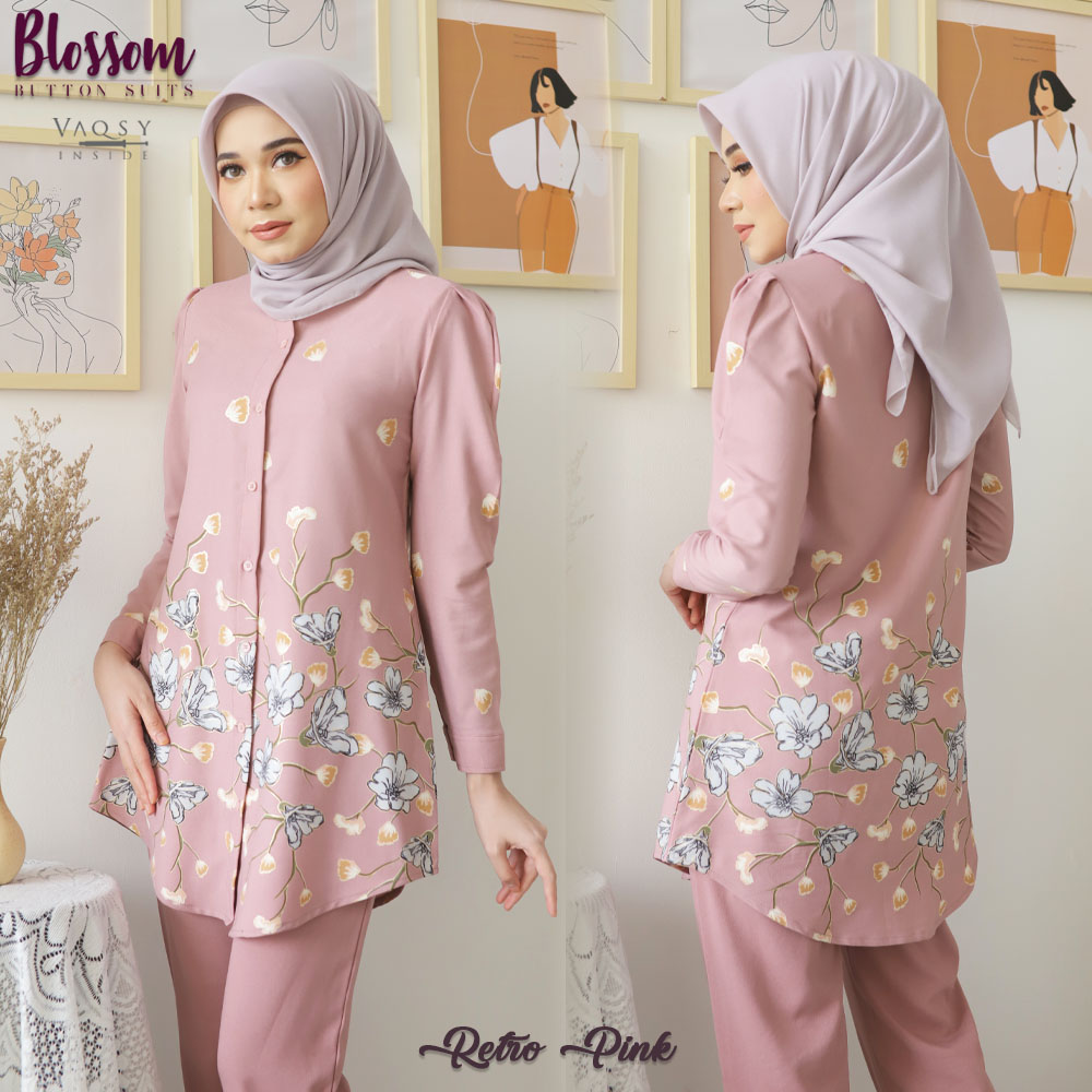 BLOSSOM BUTTON SUITS